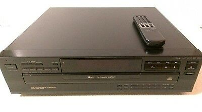 Sony CD / 5 DISC Changer Compact Disc Player Model CDP-C365