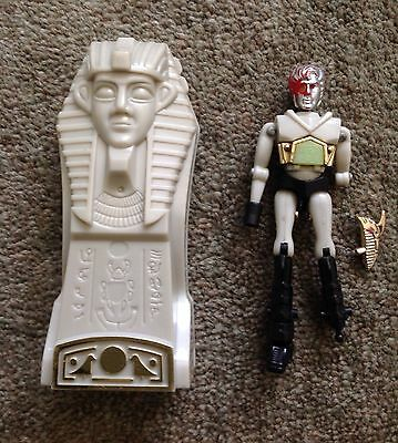Micronauts Pharoid With Time Chamber Vintage Toy Figure 1977 Mego Airfix Rare