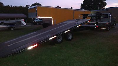 Mcelrath 32 Tilt Trailer, 2004 Dodge Cummins Quad Cab Aluminum Flatbed
