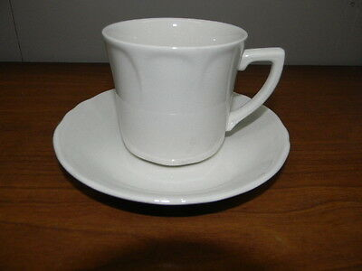 "2 J & G Meakin ""heirloom"" Ironstone Cups & Saucers"