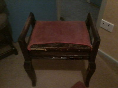 piano stool in need of restoration