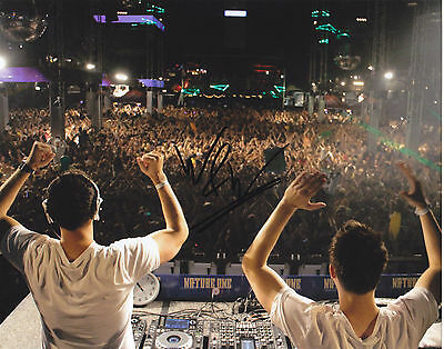 W&w W And W Signed Autograph Dance Music Edm Trance 8X10 Photo Proof #4
