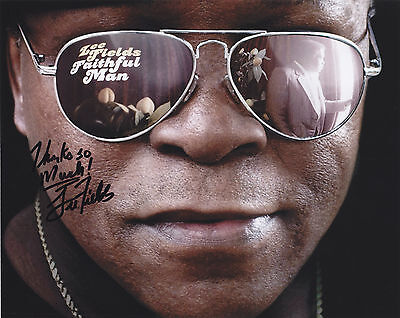 Lee Fields Signed Autographed 8X10 Photo  Soul Blues Music   Exact Proof