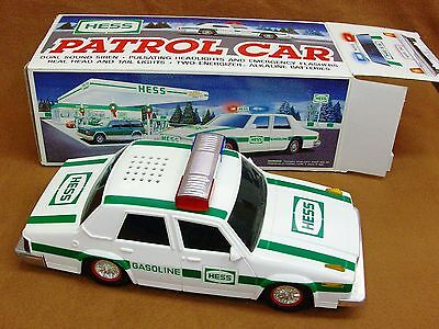 Hess Toy Police Patrol Car 1993 New In Box Gasoline oil company service station