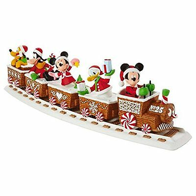 2016 Hallmark Disney Christmas Express Train Mickey Mouse Track Complete Set