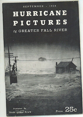 Photo Booklet * Hurricane Pictures Of Greater Fall River * Storm Barometer