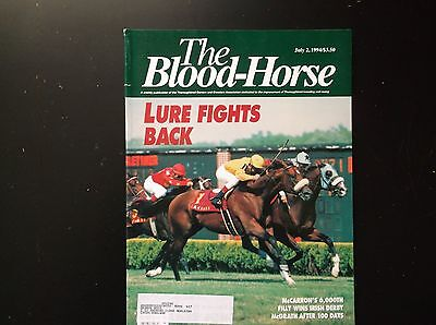 The Blood Horse July 2Nd 1994 In Fine Condition