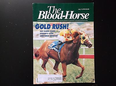 The Blood Horse July 9Th 1994 In Fine Condition