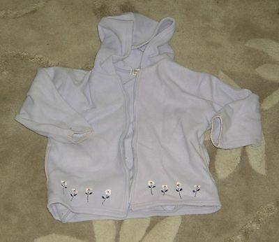 Lilac Fleece Hooded Jacket George age 3-4 Years