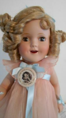 Shirley Temple Reproduction Doll, Used, Excellent Condition, COA & Stand