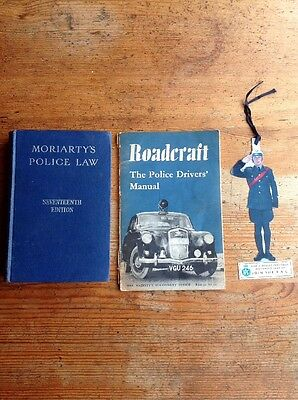 Original Police Law And Drivers Manual 1960s And RAC Bookmark Collectors