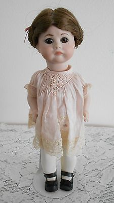 Antique Repro SFBJ #252 Paris, Used, All Porcelain doll, Very Nice Condition