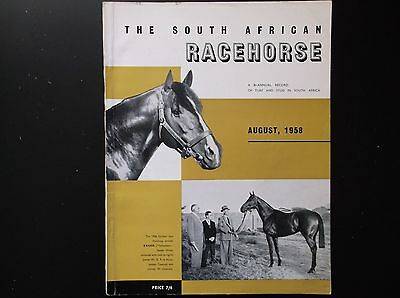 The South African Racehorse  Aug. 1958