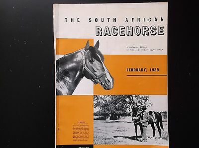 The South African Racehorse  Feb. 1959