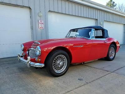 1967 Austin Healey 3000  1967 Austin Healey 3000 Mk III, Phase II, Colorado Red, Excellent Throughout