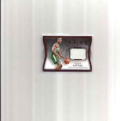 Gary Payton 2015-16 Luxe Red Die Cut 60/99  Supersonics