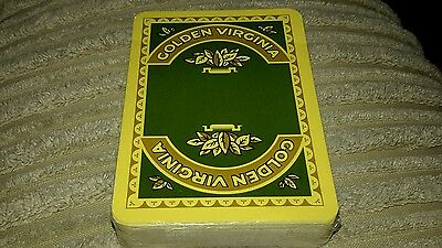 Golden Virginia half tax sealed perfect condition Playing cards
