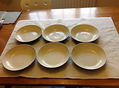 Denby Energy Charcoal Plates, Bowls And Mugs