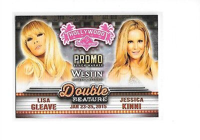 2015 Benchwarmer Hollywood Show Lisa Gleave Jessica Kinni Double Feature Promo