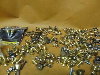 Lot of Vintage/ NOS Brass & Metal Chest Furniture Pulls & Handles & Parts