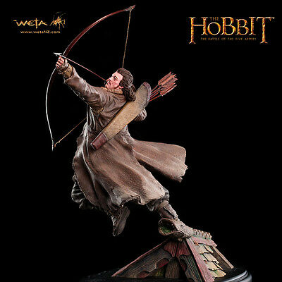 WETA The Hobbit Battle Of Five Armies Bard The Bowman 1:6 Scale Statue NEW