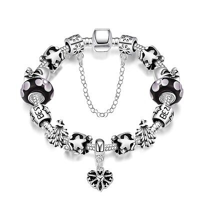 Ladies BBC Proms Jewelry Hot New 925 Solid Silver Line Bracelet Gift
