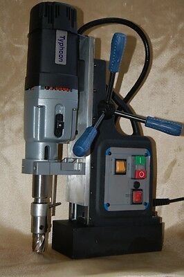 NEW! BRM-60A-B by BLUEROCK ® Tools Magnetic Drill - Mag Drill Typhoon Model