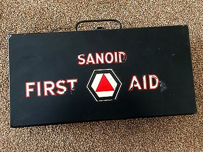Sanoid Vintage Metal First Aid Box (and contents)