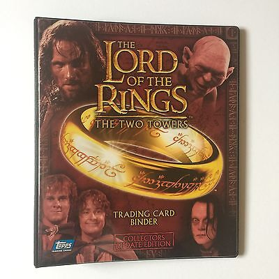 Topps Lord Of The Rings: The Two Towers Update Trading Card Binder & 72 card set