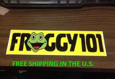 Froggy 101 Desk Sticker THE OFFICE Dwight Schrute Michael Scott Bumper TV Show