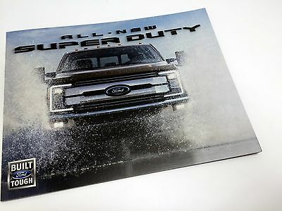 2017 Ford Super Duty Redesign Launch Preview Brochure