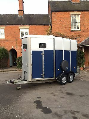 Ifor Williams HB510 2007 Horse Trailer VG Condition Brand New Tyres Px Welcome