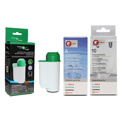 CFL-901B Brita Intenza - Bosch Cleaning + Descaling Descaler Tablets - Care Pack