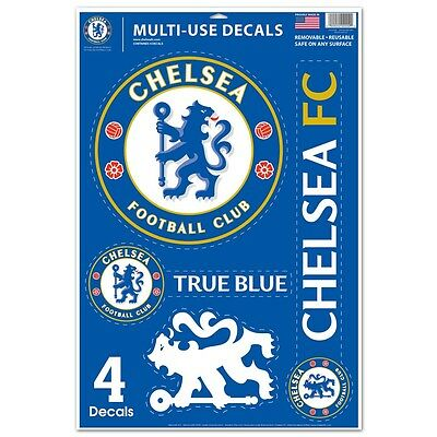 """Chelsea FC Official Soccer 11"""" x 17"""" Ultra Car Decal by Wincraft"""