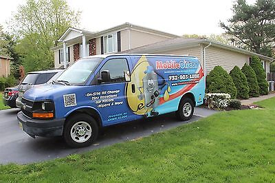 Mobile Oil Change Business with Extra Equipment
