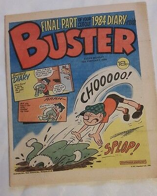 Buster Comic 18th February 1984