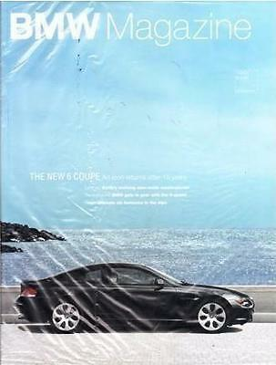 2004 Jan BMW Magazine - Feature 6 Series Coupe USA fast ship