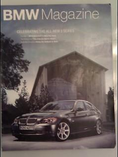 2005 FEB BMW Magazine - Feature articles on BMW 3 SERIES --  USA fast ship