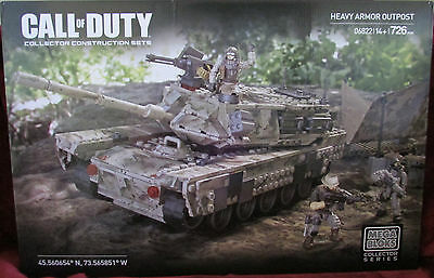 NEW Mega Bloks - Call of Duty - Heavy Armor Outpost - 06822 - NISB