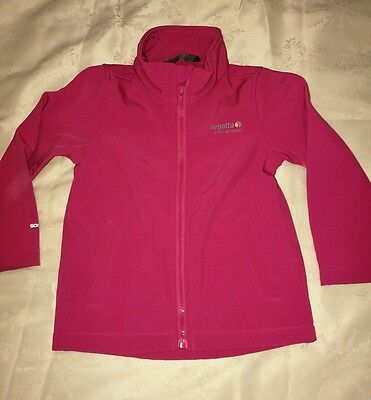 Girls pink Regatta jacket, age 3-4 years