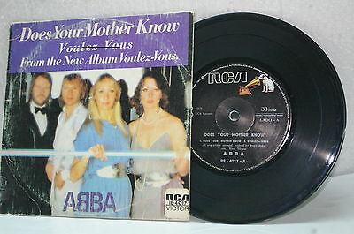 """Abba - 7¨collection Does Your Mother Know """"bolivia"""""""