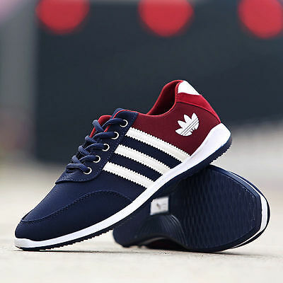 New Men's Shoes Fashion Breathable Casual Canvas Sneakers running Shoes