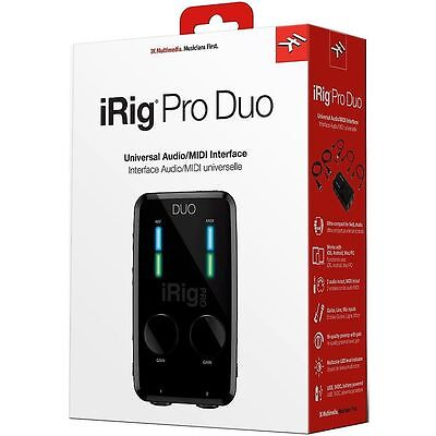 IK Multimedia iRig Pro Duo Audio/MIDI Interface for iOS