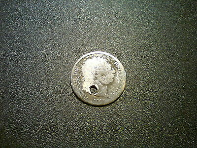 1819 George Iii British Gb Sixpence Silver Coin. Metal Detecting Find