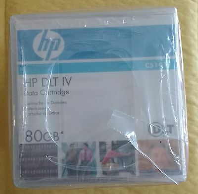 Pack of 5 x HP DLT IV Data tapes / cartridges - C5141F - NEW - Retail Sealed