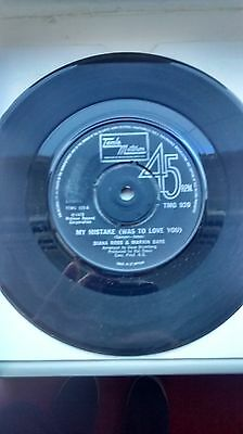 My mistake (was to love you) Marvin Gaye and Diana Ross UK Tamla Motown vinyl 45