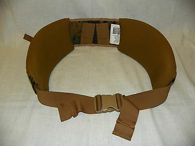 USMC ILBE Woodland Digital MARPAT Main Pack Hip Waist Belt GEN 2 Small New