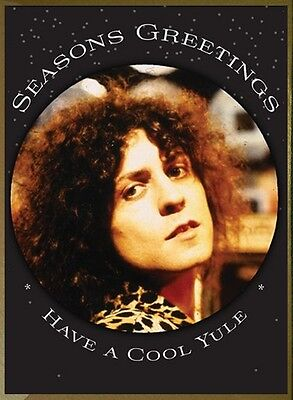 Marc Bolan T-Rexmas (Christmas) Cards - Pack Of Six Gold Envelopes - Save On P&p