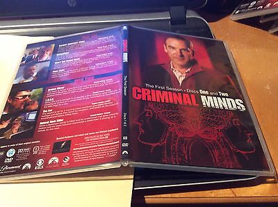 Criminal minds season 1 (disc case with slipcover)