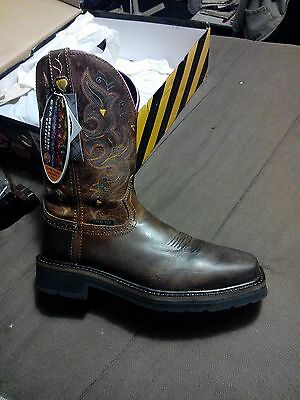 Women s Justin Workboots Stampede Collection Size 10 B